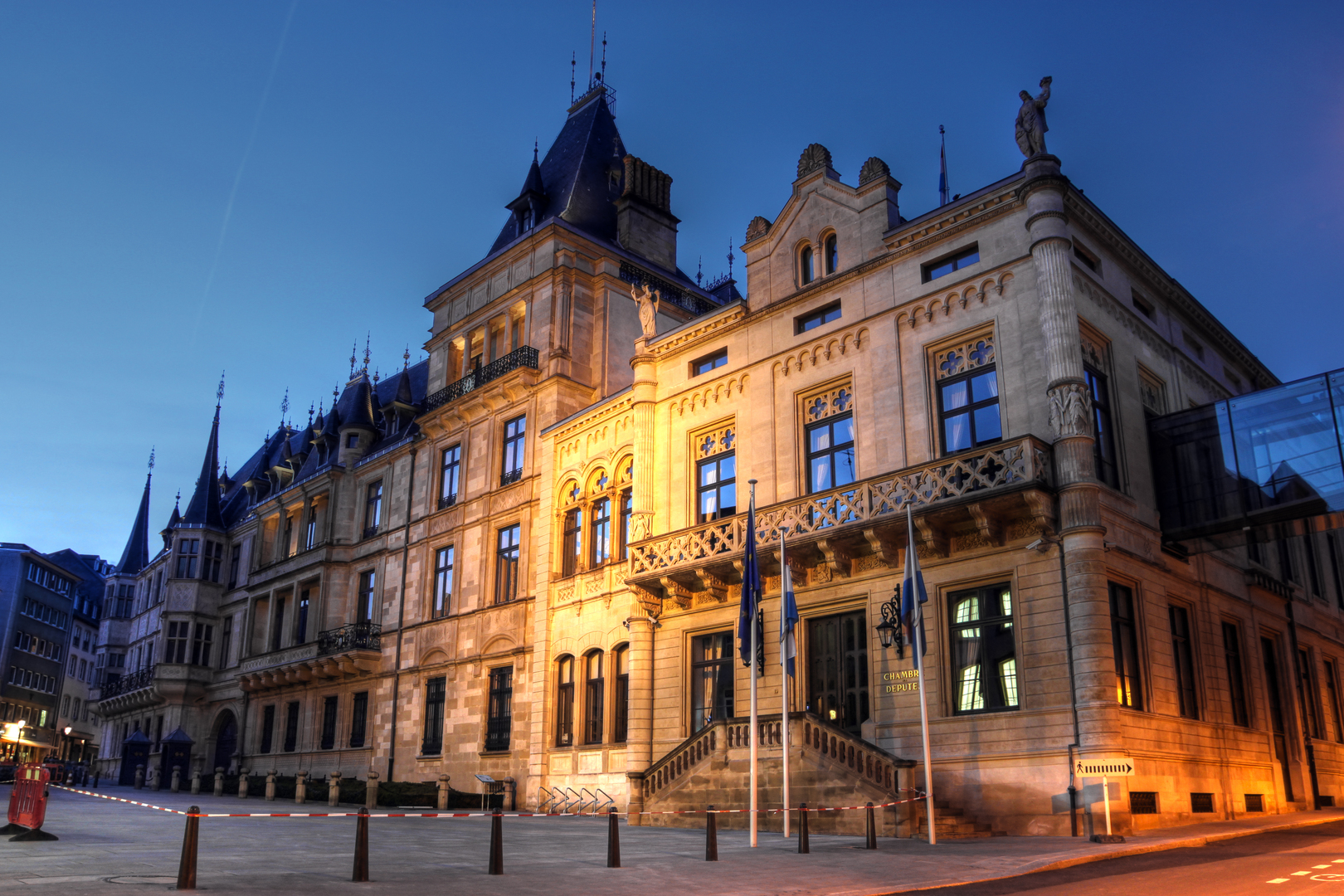 Grand Ducal Palace and the Chamber of Deputies, Luxembourg city, Grand Duchy of Luxembourg
