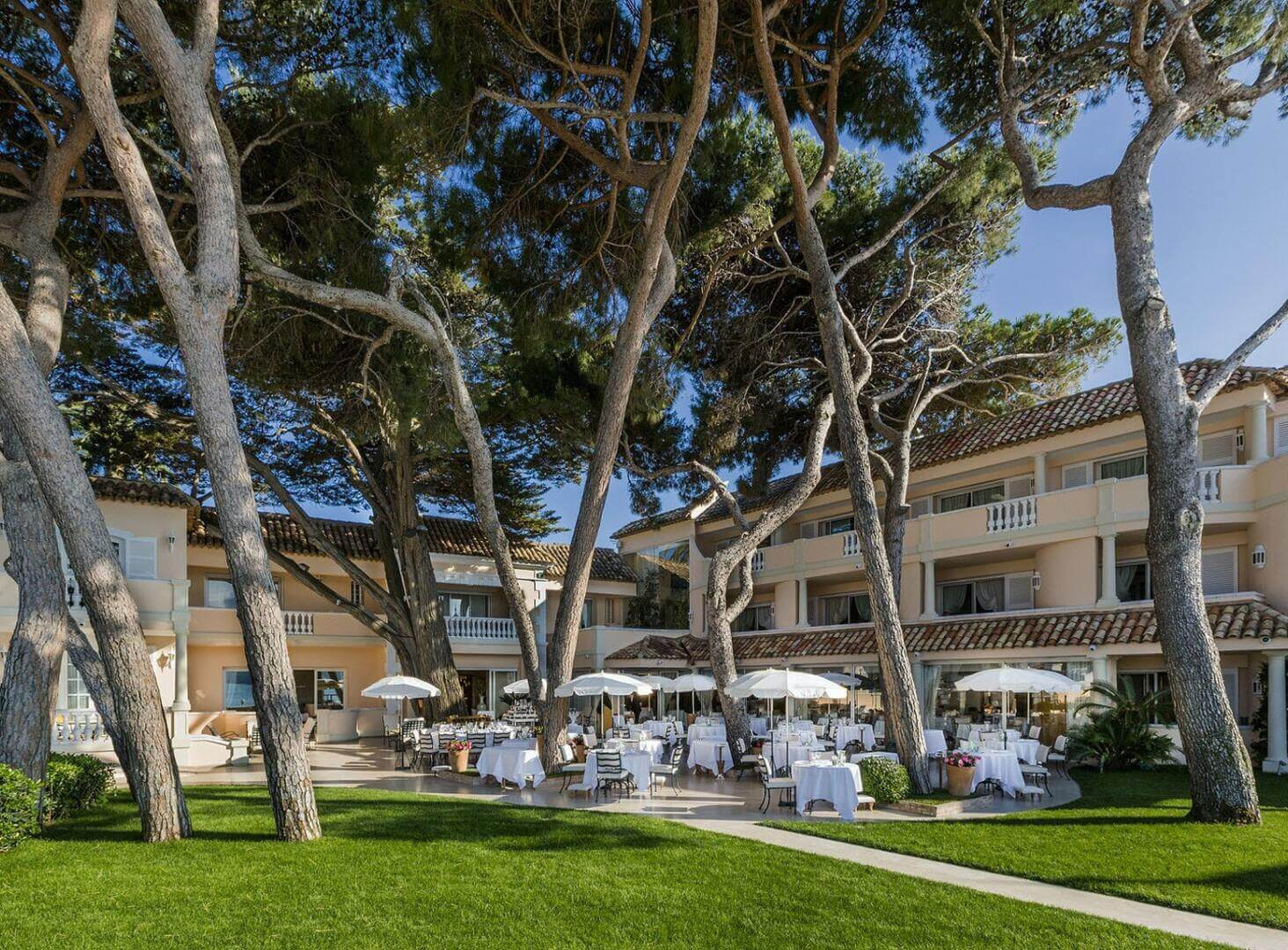Luxury hotel Le Cheval Blanc in Saint Tropez